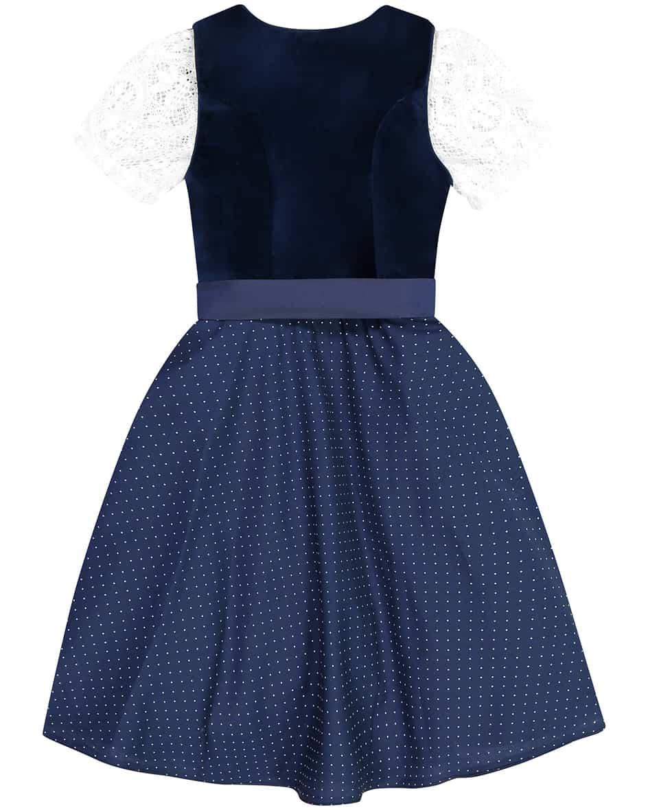 Alice Mädchen-Dirndl mit Bluse und Schürze 152