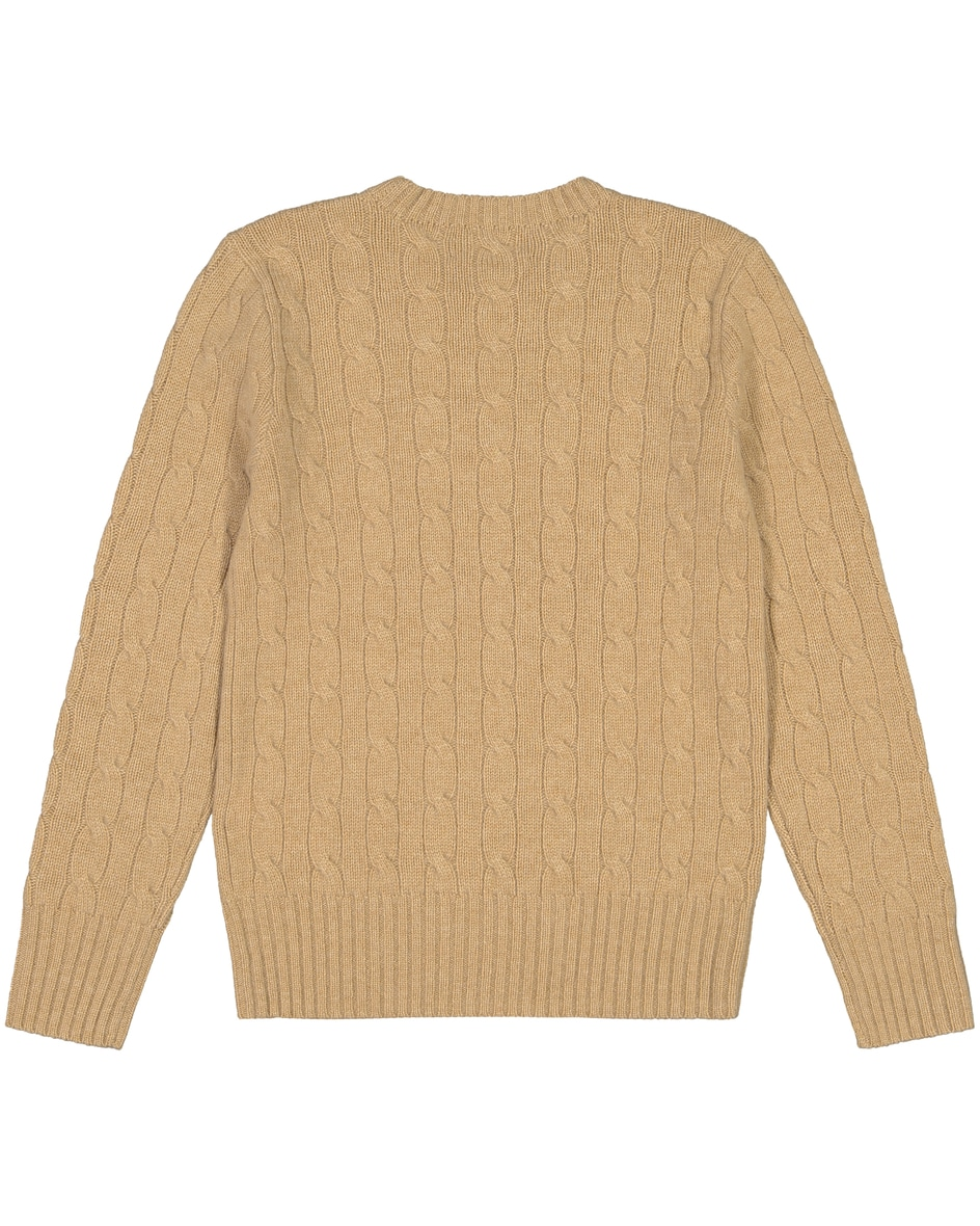Kinder-Cashmere-Pullover L