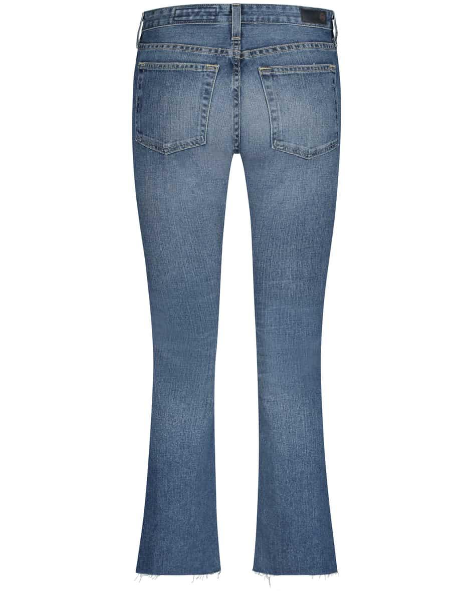 Jodi 7/8-Jeans High Rise Slim Fit Flare Crop 30