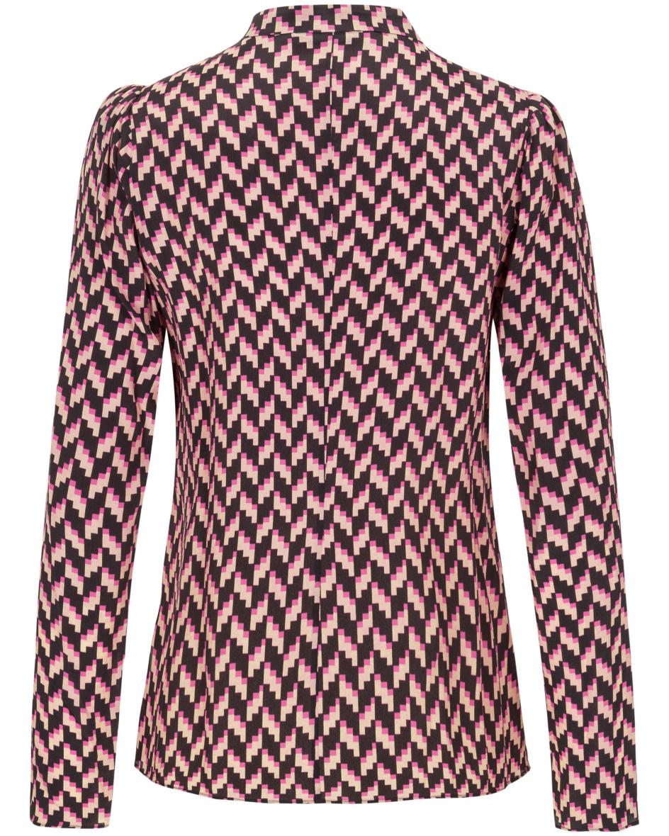 Graphic Power Bluse  44