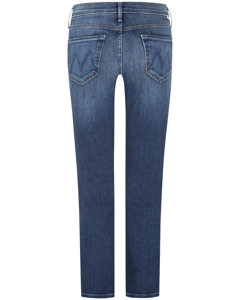 The Mid Rise Dazzler Ankle Jeans  25