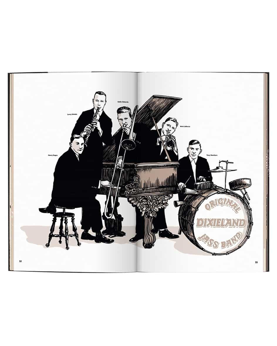 Jazz. Im New York der wilden Zwanziger Buch Unisize