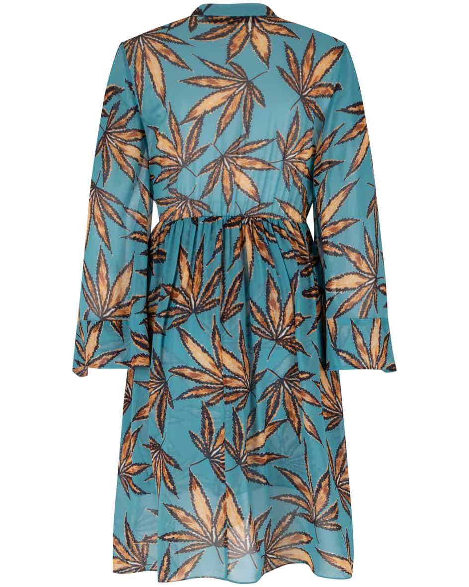 Translucent Leaves Kleid 36