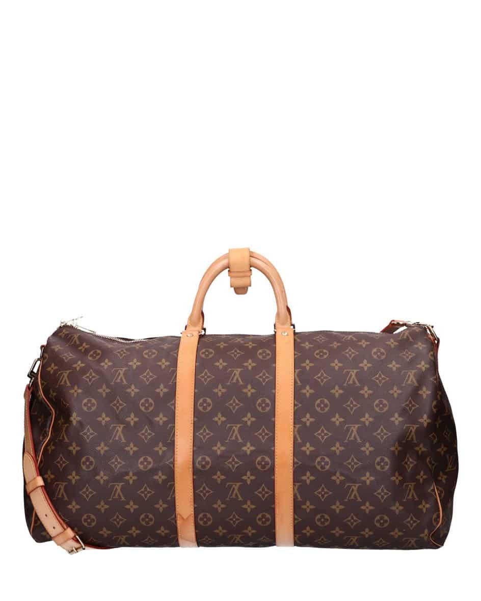 Louis Vuitton Keepall 55 Reisetasche mit Schulterriemen