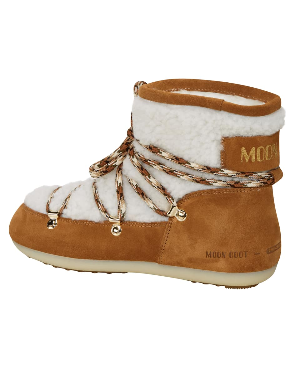 Shearling Low Moon Boot 39