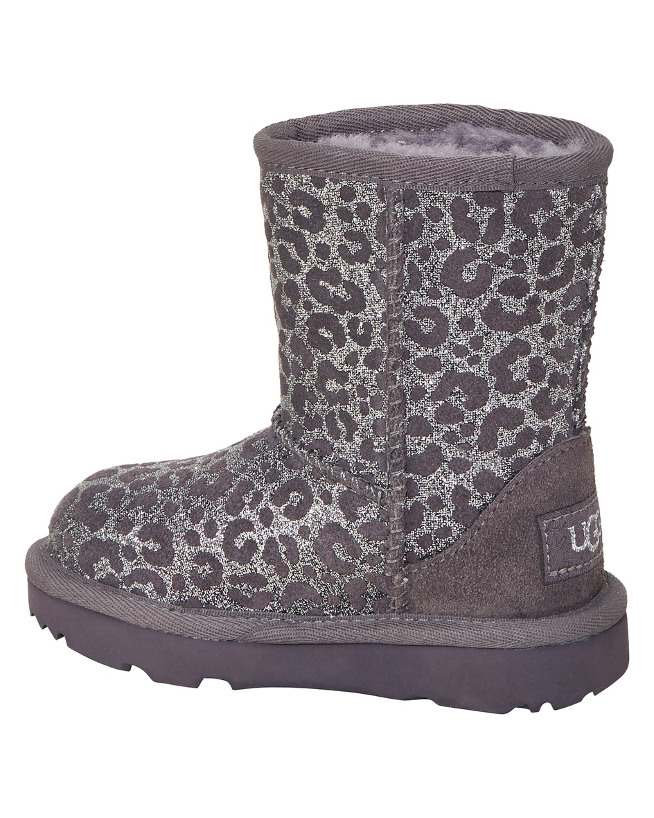 Classic II Glitter Leopard Mädchen-Boots 23