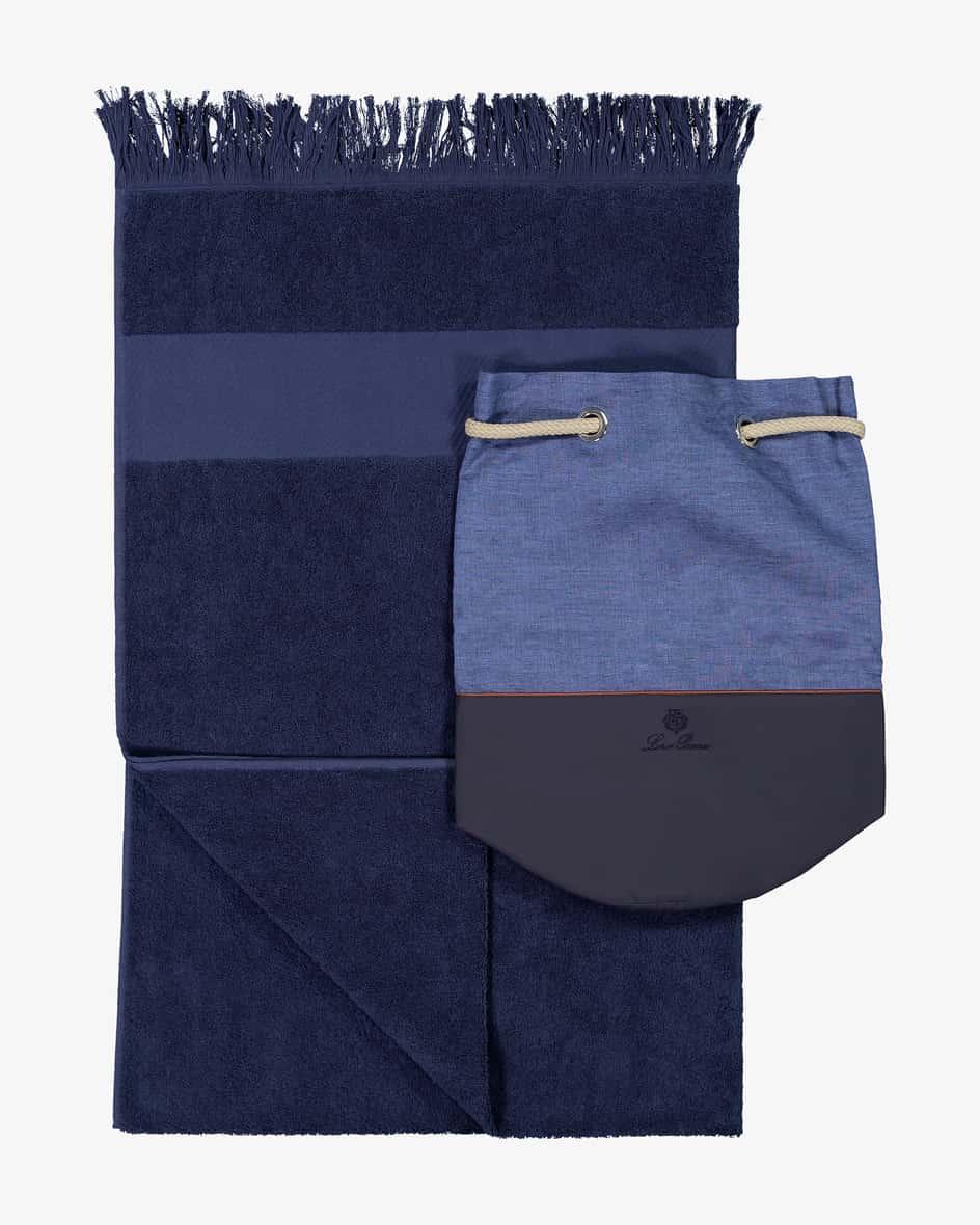 Handtuch mit Beutel Unisize