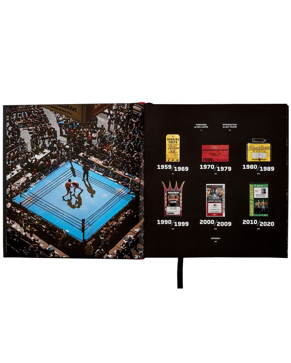 Neil Leifer. Boxing. 60 years of Fights and Fighters XL-Buch  Unisize