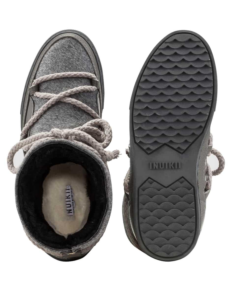 Felt Sneaker Boots 38