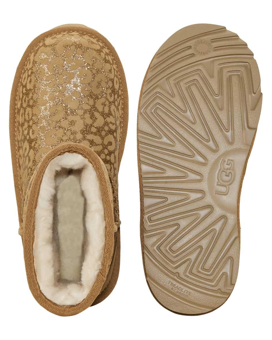 Classic II Glitter Leopard Mädchen-Boots 31