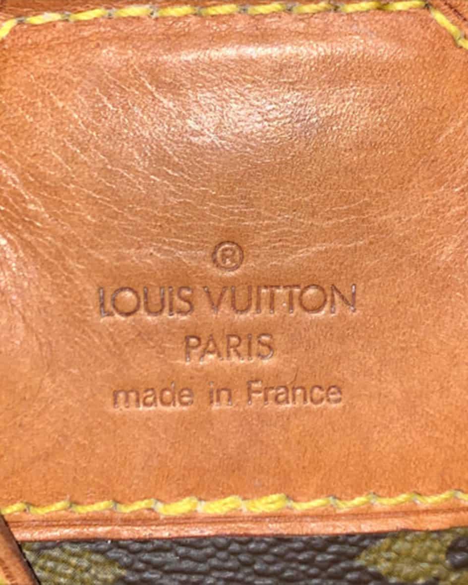 Louis Vuitton Montsouris MM Monogram Vintage Rucksack Unisize