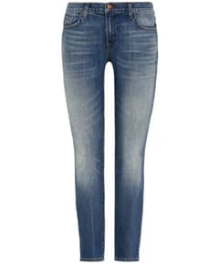 Ellis Cropped Jeans Low-Rise Straight Fit von J Brand