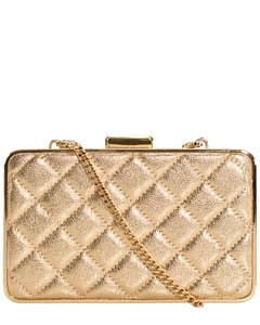 Quilted Box Clutch Unisize