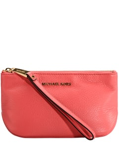 Rhea Zip Large Leather Pouch Unisize