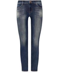 Jeans High-Rise Cropped Zip Leg