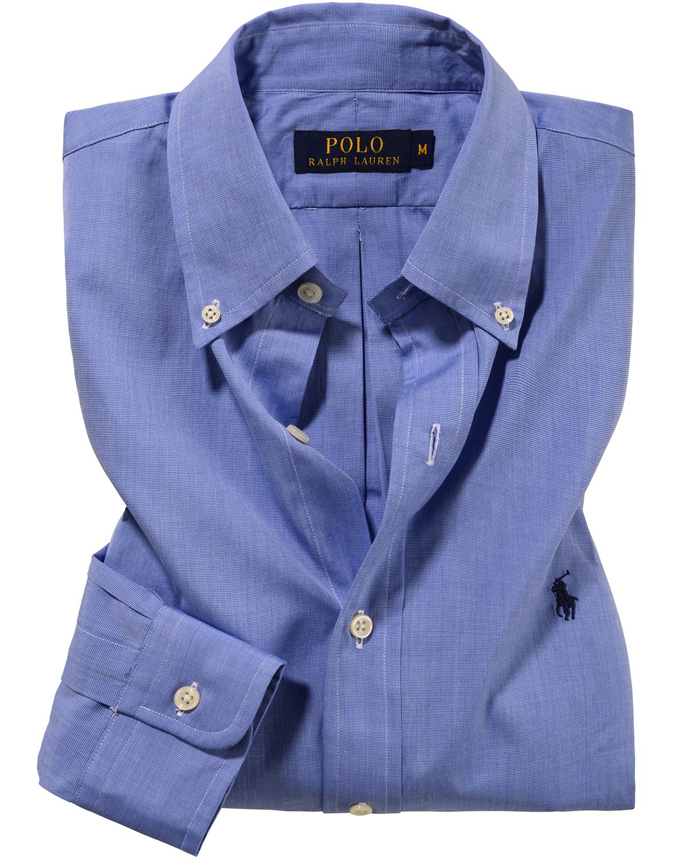 Hemd für Herren von Polo Ralph Lauren in Blau. Ob im beruflichen Alltag  oder in 1749a70f07