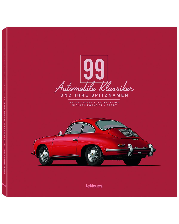 teneues 99 automobile klassiker und ihre spitznamen buch lodenfrey. Black Bedroom Furniture Sets. Home Design Ideas