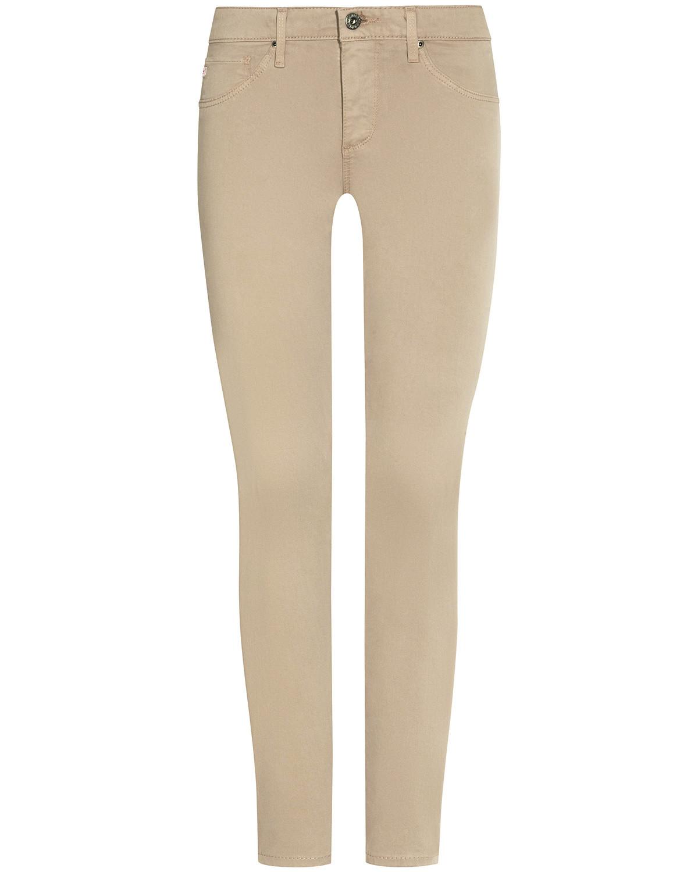 Artikel klicken und genauer betrachten! - The Legging Jeans Super Skinny High Rise Ankle für Damen von AG Jeans in Beige. Die 5-Pocket-Denim mit figurbetonendem Schnitt und schmaler Passform.... Mehr Details bei Lodenfrey.com! | im Online Shop kaufen