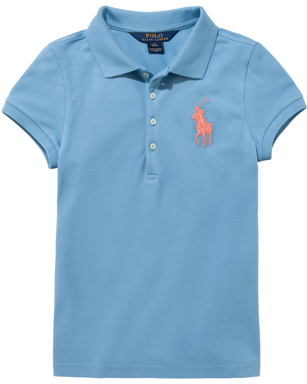 Moncler Herren Poloshirt blau hellblau Gr. XXL, hellblau