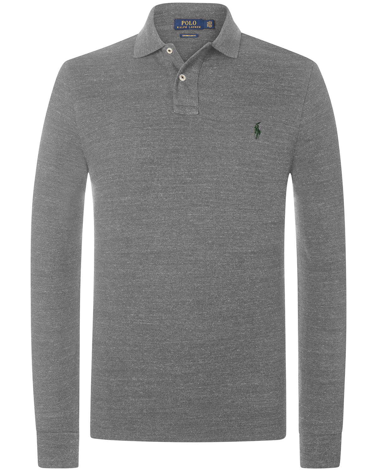huge discount 8804d b723f Langarm-Polo Custom Slim Fit