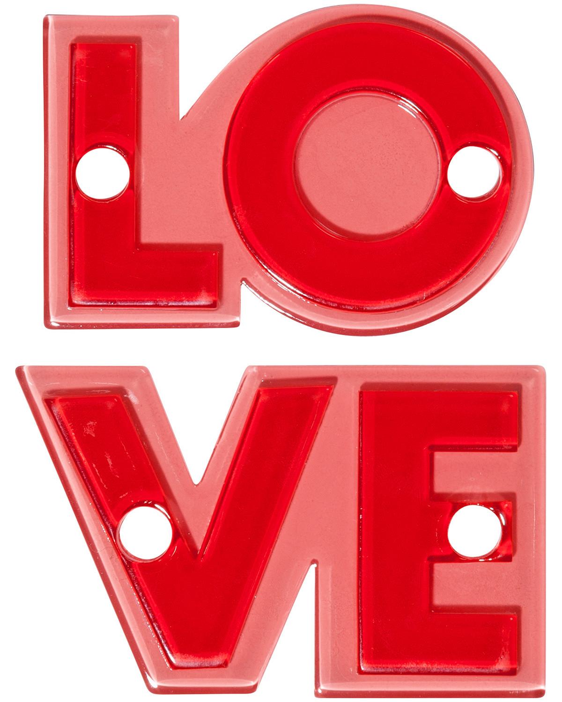 Love Sneaker Patches (Rot) - Damen (Unisize) Iphoria Kauf Zum Verkauf Verkauf Großhandelspreis Auslass Fälschen H6p4acUBL9