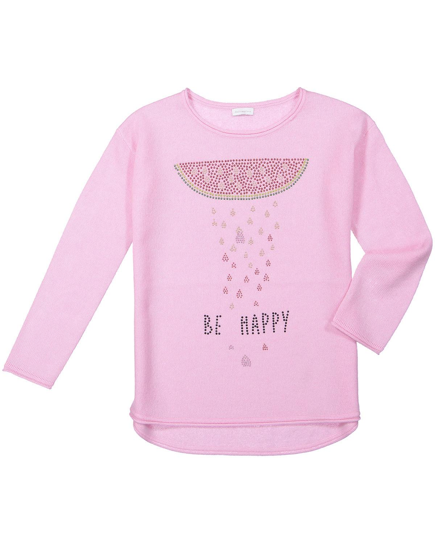 Artikel klicken und genauer betrachten! - Mädchen-Cashmere-Pullover von Delicate Love in Rosa. Das besonders weiche Modell aus hochwertigem Cashmere begeistert durch die changierenden.... Mehr Details bei Lodenfrey.com! | im Online Shop kaufen
