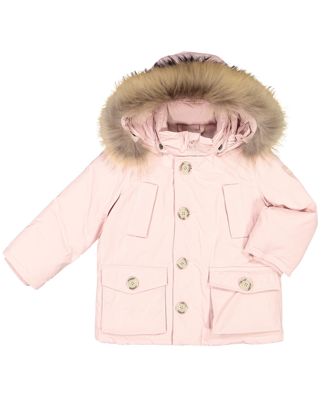 huge discount b548e 40d18 Woolrich- My First Baby-Parka, Rosa ✓ | Günstig & Schnell ...