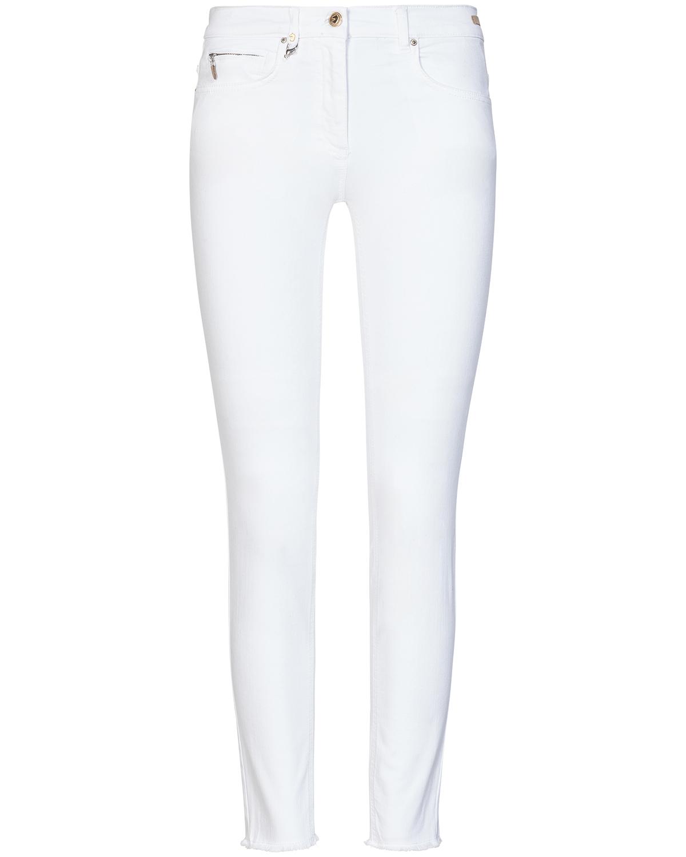 Artikel klicken und genauer betrachten! - Cinq Cut 7/8-Jeans für Damen von Pamela Henson in Weiß. Das schmal geschnitteneModell präsentiert sich in zeitloser Aufmachung und erweist sich dank.... Mehr Details bei Lodenfrey.com!   im Online Shop kaufen