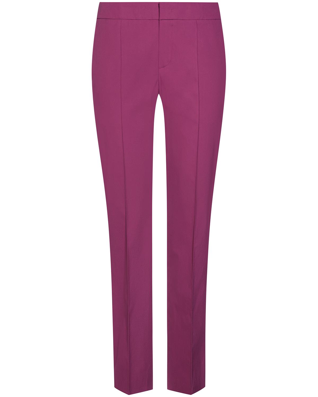 Artikel klicken und genauer betrachten! - Panamara Hose für Damen von Strenesse in Beere. Das schmale Modell überzeugtdurch das cleane Design, das von abgenähten Bügelfalten modisch.... Mehr Details bei Lodenfrey.com!   im Online Shop kaufen