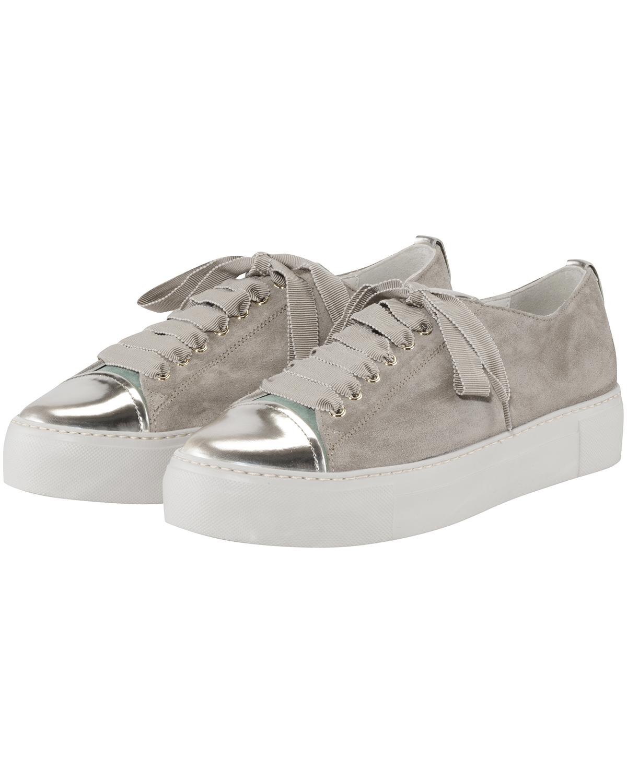 Artikel klicken und genauer betrachten! - Sneaker für Damen von AGL in Taupe und Gold. Das stilvolle Modell überzeugt mitLackleder-Details als auch durch die Verwendung von hochwertigem.... Mehr Details bei Lodenfrey.com!   im Online Shop kaufen