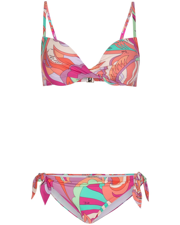 Artikel klicken und genauer betrachten! - Bikini für Damen von Emilio Pucci in Bunt. Der farbenfrohe Bikini begeistert mitmodischem Allover-Muster und femininem Design. Perfekt für einen.... Mehr Details bei Lodenfrey.com!   im Online Shop kaufen
