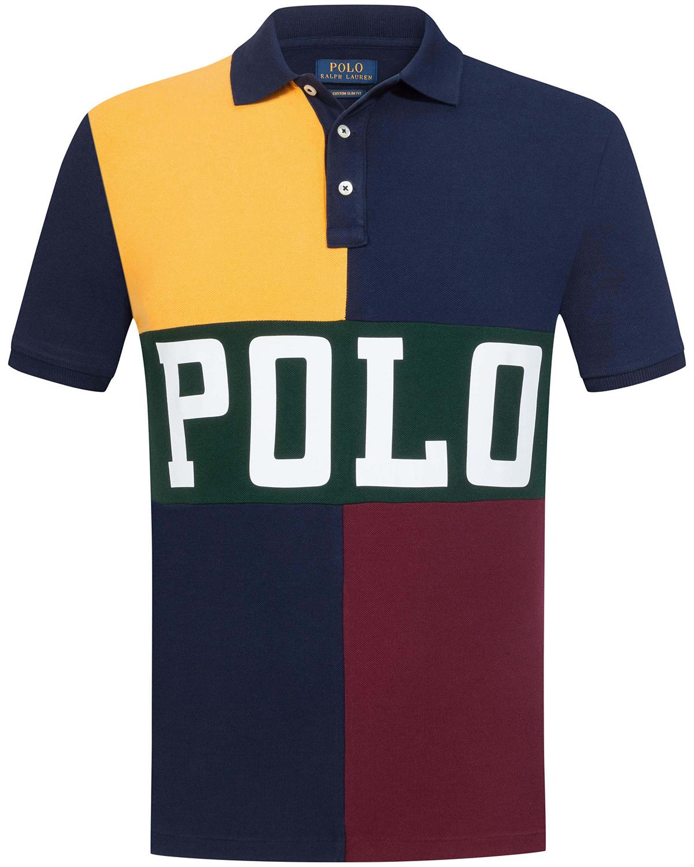 low priced d3242 aee21 Polo-Shirt Custom Slim Fit