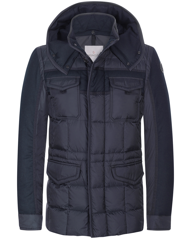 Moncler Jacke Daunenjacke dunkelblau