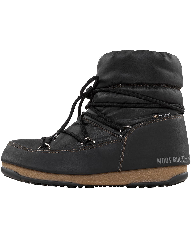 new concept ec389 79f6b Low Nylon Moon Boots