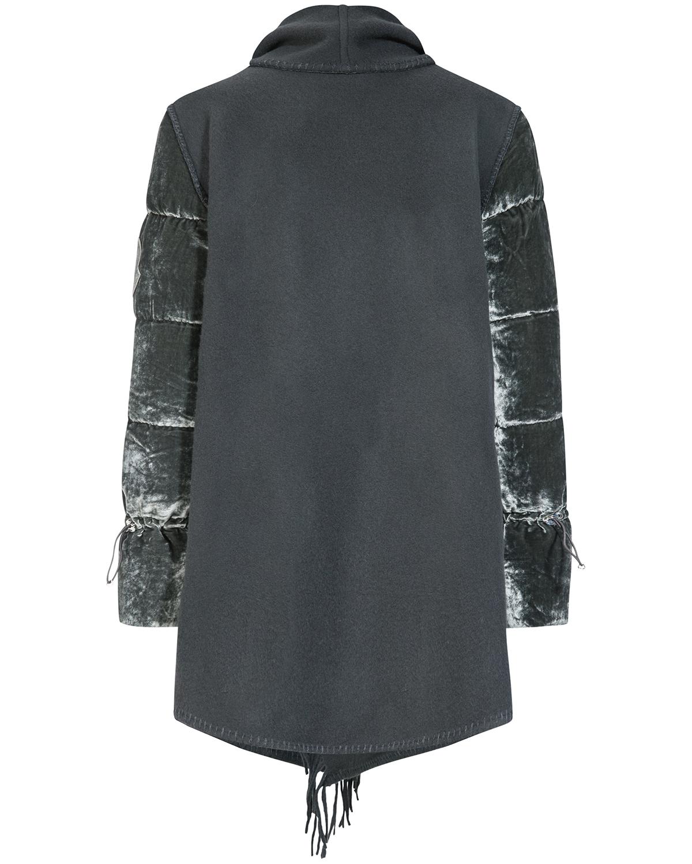 moncler westen günstig kaufen, Moncler strick cape grau
